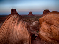 Monument Valley Golden Mittens