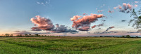 Pasture Pano Texas clouds