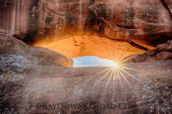 Eye of the Whale Arch at Arches NP